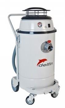 義大利DELFIN 501WD AIR工業用氣動粉塵吸塵器