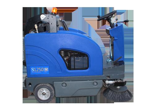美國Cleanking S1250駕駛式掃地機