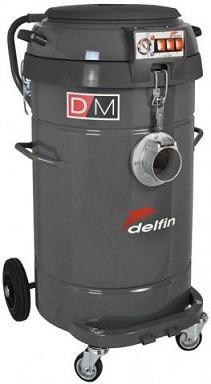 義大利DELFIN DM40 WD三馬達乾溼粉塵工業用吸塵器