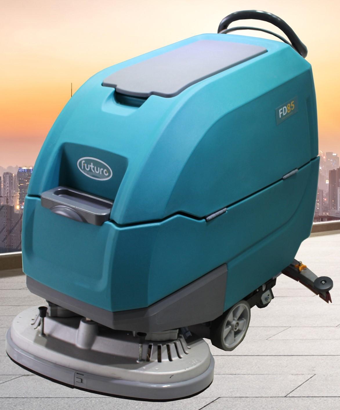 FD85雙刷手推式洗地機