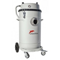 義大利DELFIN 802WD AIR工業用氣動粉塵吸塵器